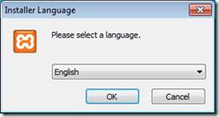 xampp-select language
